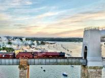 Crossing Tamar on Saturday | Steam Train Princess Elziabeth