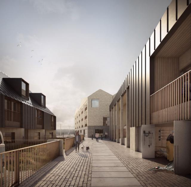 New photos have been released, giving a closer look at what a major development for Hayle might be like