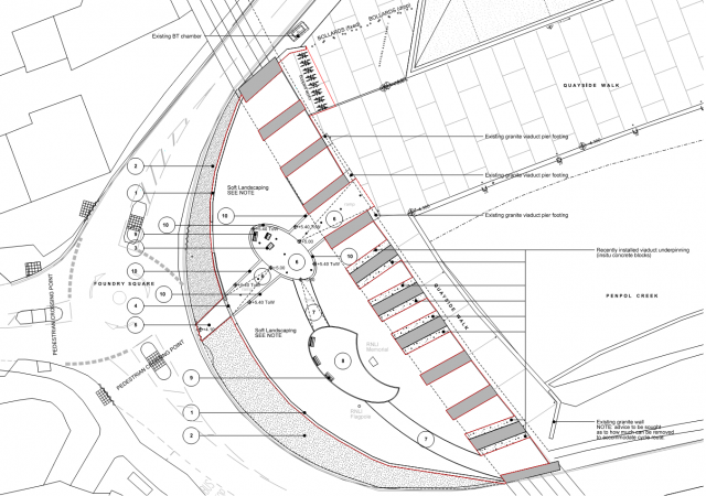 PA15/03669 | Reserved Matters Application For The Creation Of New Footpath Through Isis Gardens, Connecting Foundry Square To Th