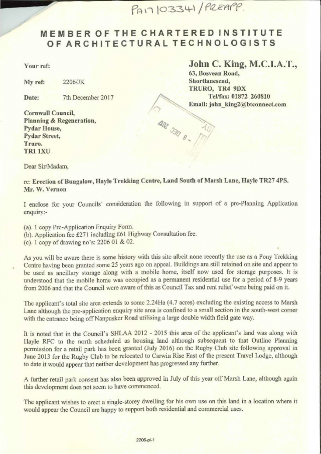 PA17_03341_PREAPP-COVERING_LETTER-3592072 page 1