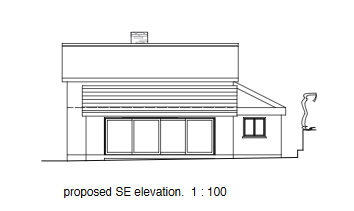 PA20/00542 PROPOSED Elevation SE