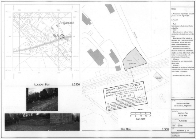 Location Plan and Site Plan