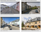 Creating Better Townscape Figure 22 & 23 : (Below ) : Examples of 3 bedroom terrace houses Image 20 : Commercial Road, Hayle : Main Street frontage Image 21 : Nansledan, Newquay Image 22 : Penpol Road, Hayle : terraces Image 23 : Contemporary interpretati