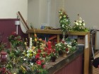 Some photos of the 36 arrangements done by the very talented ladies at workshop December 2016 part two
