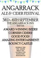 Angarrack Ale & Cider Festival 3-6th September | Angarrack Inn