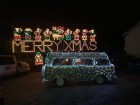 Festive VDub at Angarrack Lights